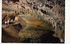 BG12034 grottes de han s lesse l entree de la salle des draperies  belgium