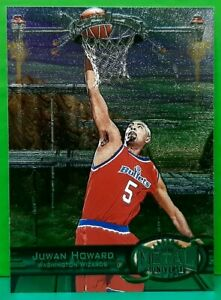 Juwan Howard regular card 1997-98 Metal Universe #33