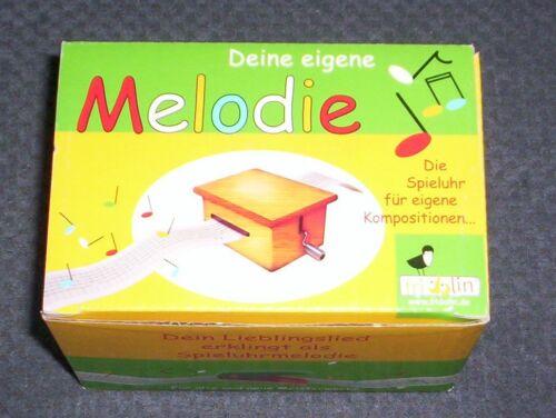 Musik-Spieluhr mit Lochstreifen FRIDOLIN