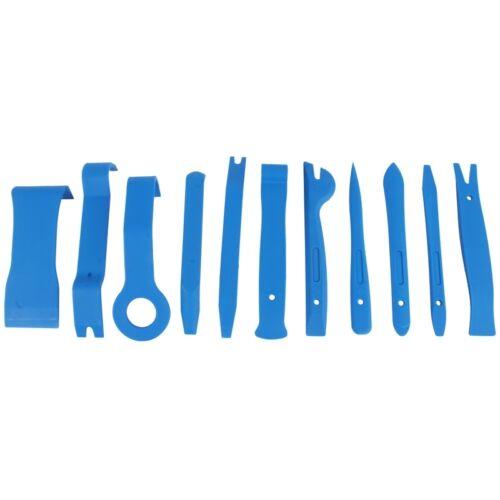 Zierleistenkeil Satz 11-tg Kunststoff Keil Plastikkeil Montierhebel Werkzeug Set