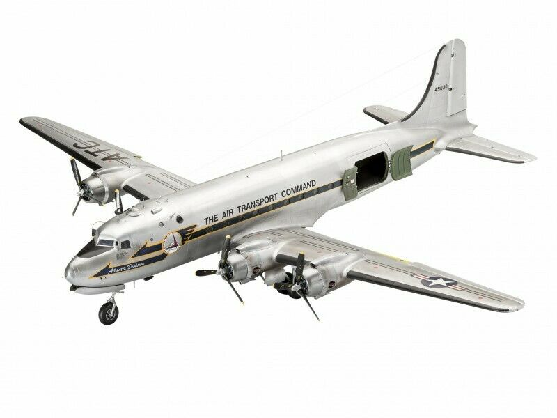 Revell 1 72 C-54D Berlin Airlift 70° Anniversario Modello in kit di Montaggio