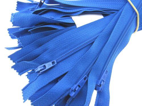 5 x Nylon Closed End Zips Listing 1