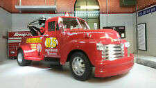 G LGB 1:24 Scale Welly Chevrolet Wrecker Tow Truck 1953 22086R Diecast Model