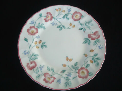 churchill england briar rose bread & butter plate chartwell collection