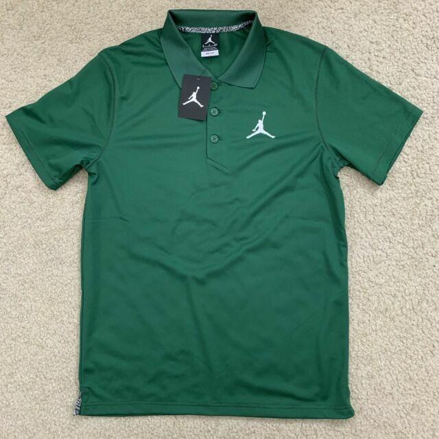 Nike Tipped Golf Polo Air Jordan Green