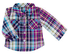 "Plaid Shirt for 18"" American Girl Boy Doll Clothes DETAILED!"