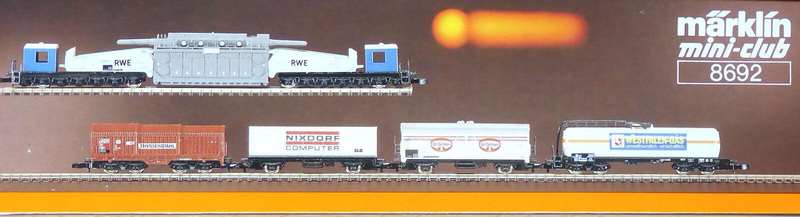 Z miniclub 8692; regionale carrello Set  West  DB, in scatola originale/f090