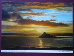 POSTCARD CORNWALL SUNSET OVER ST MICHAEL039S MOUNT  CORNWALL - Tadley, United Kingdom - POSTCARD CORNWALL SUNSET OVER ST MICHAEL039S MOUNT  CORNWALL - Tadley, United Kingdom