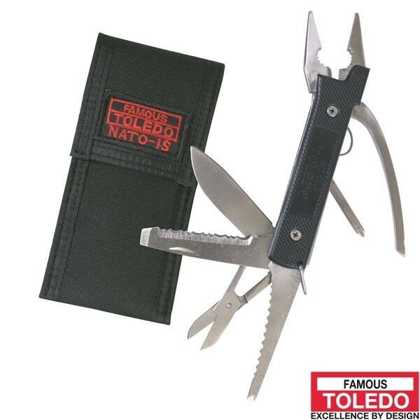 TOLEDO Combination Army Knife NATO1S