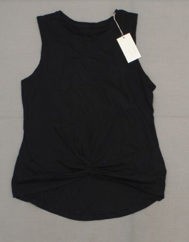NWT A New Day Women/'s Cotton Printed or Solid Twist Front Tank Top