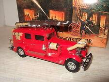 Raro Matchbox yfe03, 1933 Cadillac Carro De Fuego Modelo Diecast