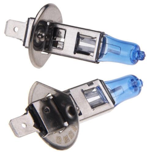 HOTSYSTEM 2x H1 6000K Xenon Gas Halogen Headlight White Light Lamp Bulbs 55W 12V