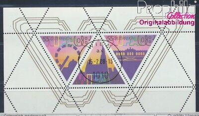 Autriche Bloc 41 Oblitéré 2008 Exposition Philatélique Europe 8578156