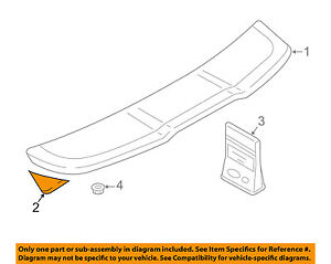 Lift Gate Repair >> Details About Audi Oem 16 18 A3 Spoiler Lift Gate Repair Kit 8v4898661