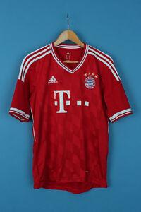 on sale d262e cb1d6 Details about VINTAGE ADIDAS BAYERN MUNICH MUNCHEN FOOTBALL SHIRT TRIKOT  JERSEY 2013/2014 M