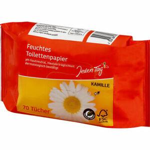 """""""Jeden Tag"""" Feuchtes Toilettenpapier Nachfüllpack   24x70er Packung"""
