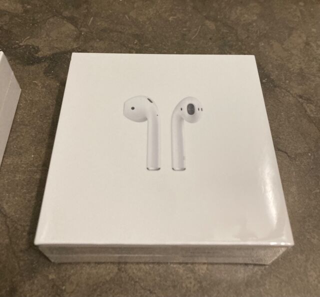 Unopened BRAND NEW Apple AirPods (2nd Generation) with Wired Charging Case