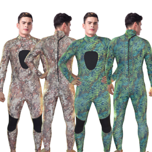 Men's 3mm  Camouflage Camo Wetsuit for Scuba Free Diving Spear Fishing Snorkeling  no tax