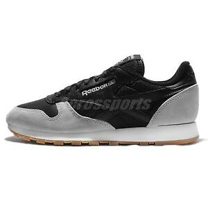 Reebok CL Leather SPP Perfect Split Black Grey Gum Mens Casual AR1895