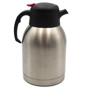 Oggi-2-Liter-Stainless-Steel-Insulated-Carafe-Never-Used-No-Box