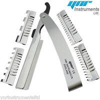 YNR England Hair Shaper Razors 4, 7, 15, 17 Teeth Style Blades Hairdressing Tool