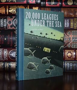 20,000 Leagues Under the Sea by Jules Verne Unabridged Illustrated New Hardcover