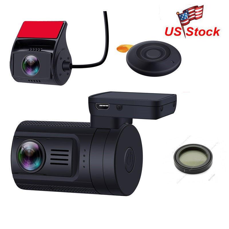 s-l1600 Dual Lens Car DVR HD 1080P Video Dashboard Camera Recorder Dash Cam G-sensor+CPL