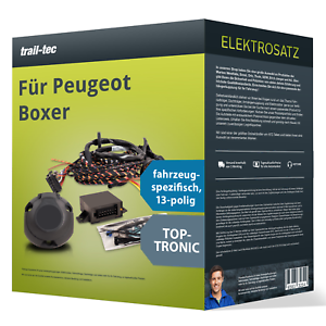 Elektrosatz 13-pol spezifisch für PEUGEOT Boxer 06.2006-01.2011 NEU trail-tec