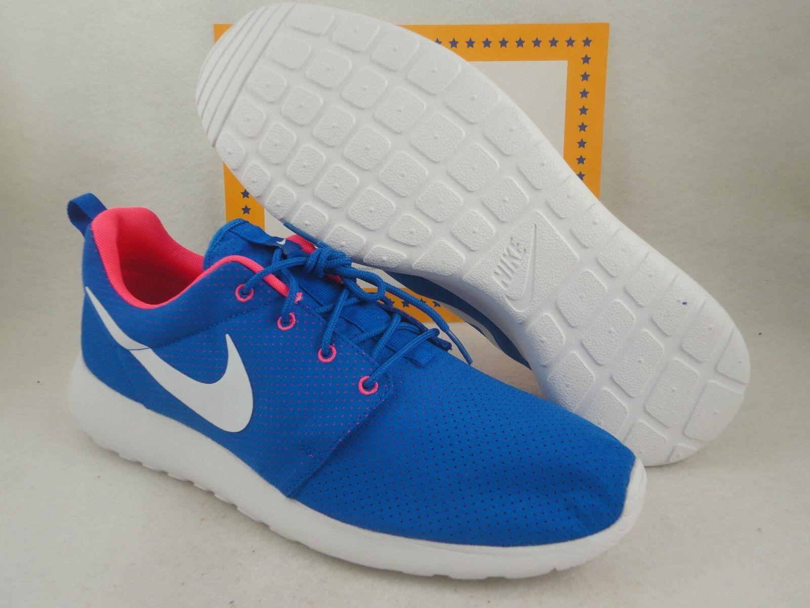 Nike Rosherun, Hyper Cobal / White / Hyper Punch, Size 13