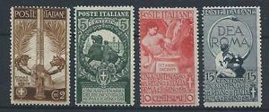 FRANCOBOLLI-1911-REGNO-UNITA-039-D-039-ITALIA-SERIE-INTEGRA-MNH-D-6448