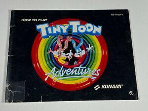 Tiny Room Adventures NES Nintendo Original Instruction Manual Booklet Only