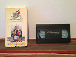 Walt-disney-world-Video-plani-vacances-VHS-FRENCH