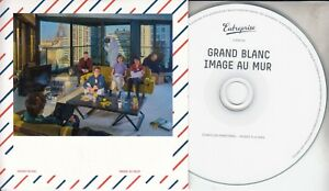 GRAND-BLANC-Image-Au-Mur-2018-French-12-track-promo-CD