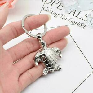 Creative-Silver-Metal-Turtle-Keyring-Key-Chain-Charm-Pendants-Handbag-Decor-H5S2