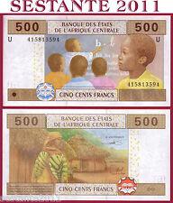Central African States  U = CAMEROUN  500 Francs 2002 - P 206U -  FDS / UNC
