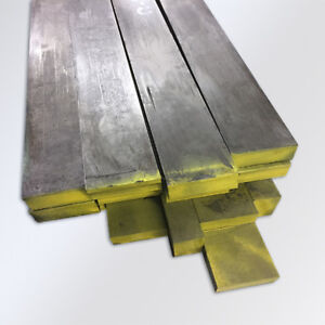 """5//16/"""" x 2 ft 1 Piece Ships UPS long Square Bar C1018 Cold Rolled Mild Steel"""