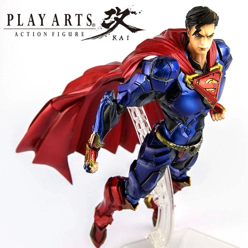 SQUARE ENIX VARIANT PLAY ARTS KAI DC COMICS SUPERMAN ACTION FIGURES KIDS BOY TOY
