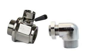EZ-Oil-Drain-Valve-EZ205TL-W-Elbow-Connector-CAT-3406-B-C-E-Models-C13-C15-C16
