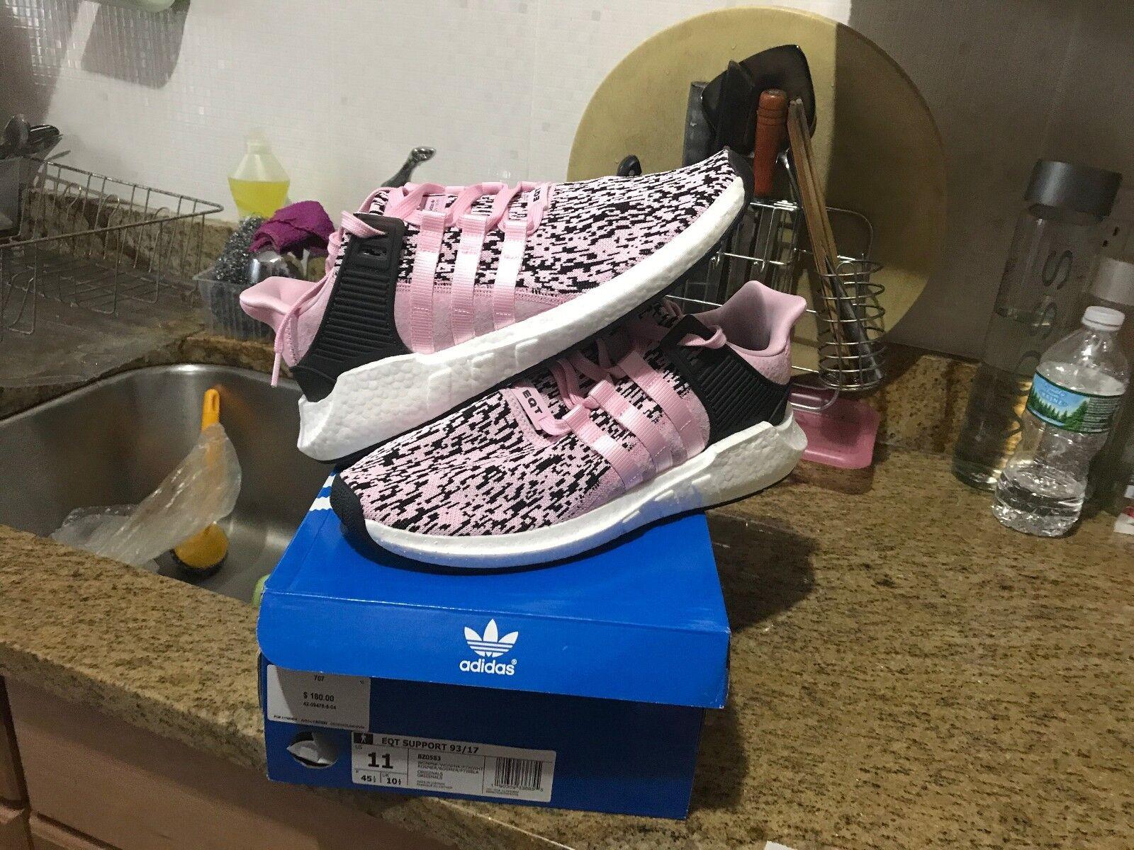 Adidas originali 17 eqt sostegno 93 / 17 originali chiedo rosa - bianco bz0583 uomini 8e0ce9