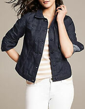 NWT Banana Republic New $98.00 Women Denim Jacket Size Small