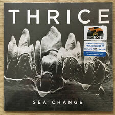 "Thrice - Sea Change 7"" LP - Blue Vinyl - NEW COPY - Record Store Day 2017 RSD"