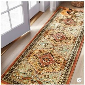 Threshold-Floral-Woven-Runner-Accent-Rug-2-25-039-X-7-039-Green-Red-Rust-Farmhouse