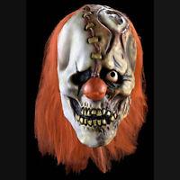 Half Laugh Evil Clown Mask Crazy Morbid Industries 36065