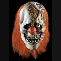Half Laugh Evil Clown Mask Crazy Morbid Industries 36065