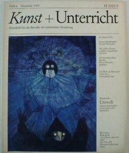 Kunst-Unterricht-Zeitschrift-fuer-aesthetische-Erziehung-Dezember-1969-B16076