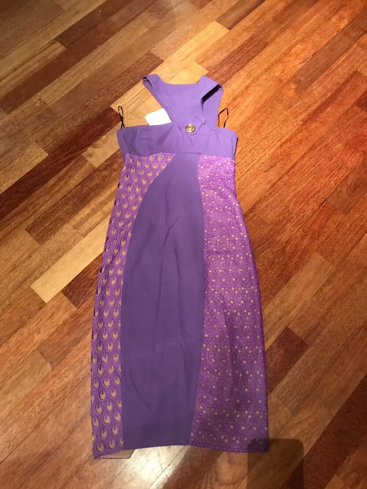 Damen Kleid Versace for HM  Neu Gr 36 Seide