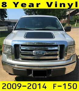 2009 2014 Ford F 150 Quake Hood Factory Tremor Fx Style Hood Vinyl D Auto Motor Stripes Decals Vinyl Graphics And 3m Striping Kits