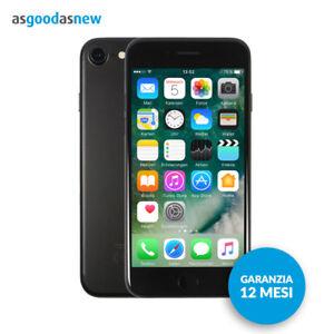 Apple-iPhone-7-256GB-Nero-opaco-Originale-Garanzia-12-mesi-Ricondizionato