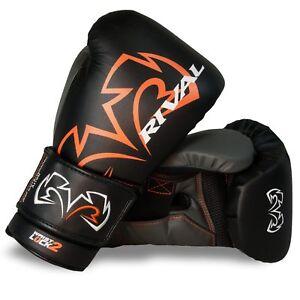 Rival Boxing Gloves RS11V Evolution Workout Sparring Training Gloves Black