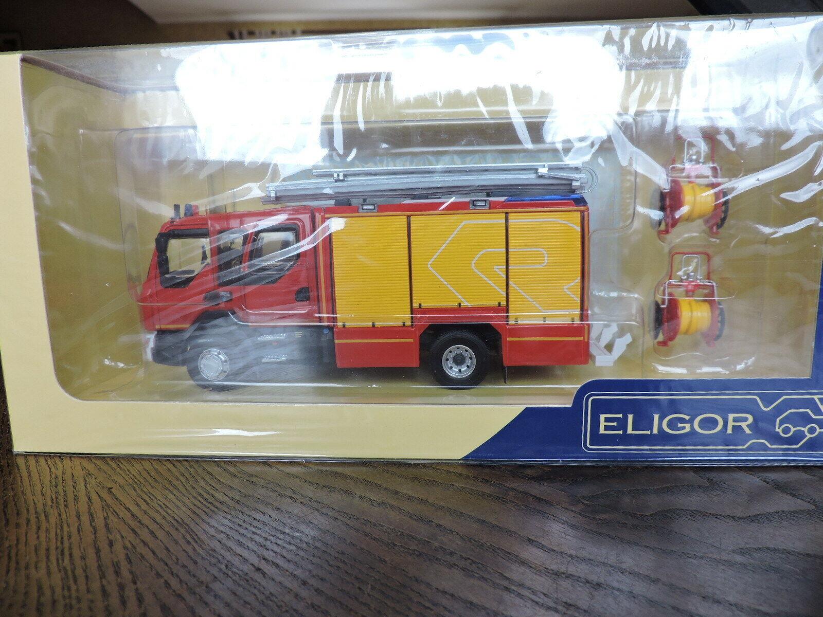 Renault D15 -  FPT Pompiers  -  Rosenbauer -  Eligor 1 43 - NEUF